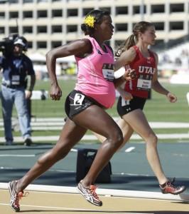 Pregnant runner Alysia Montano