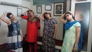 garbh sanskar antenatal pregnancy exercise in nerul thane kharghar