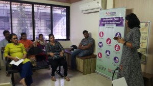 garbhsankar antenatal care class for pregnancy are held in nerul, kharghar and thane by FabMoms
