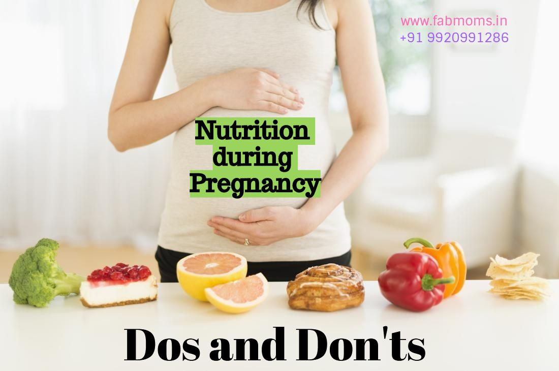 Nutrition during pregnancy dos and donts
